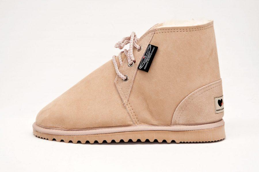 141 Sheepskin Desert Boot
