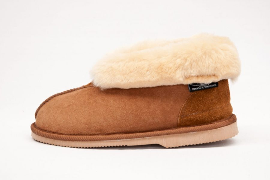 159 Sheepskin Hard Sole Slipper