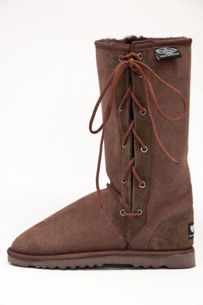 50 Sheepskin Medium Laceup Boots
