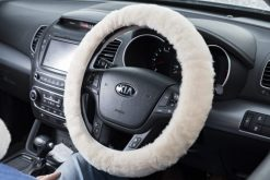 Natural Steering Wheel Cover