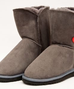 Grey Short Heart P