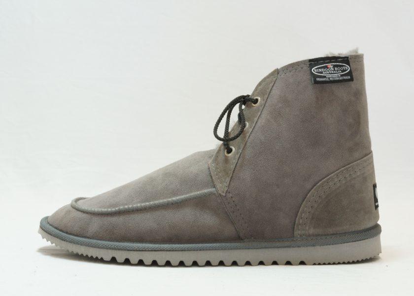 Grey Cruiser Boots