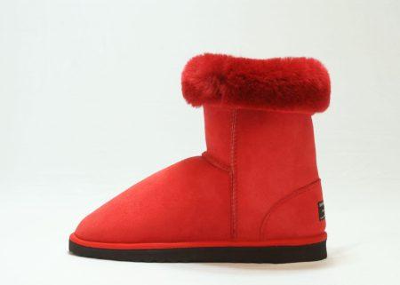 red black short cuff down